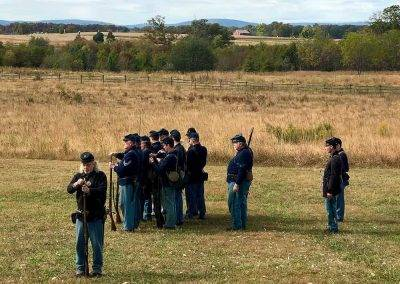 124th New York at the 2019 Gettysburg Living History